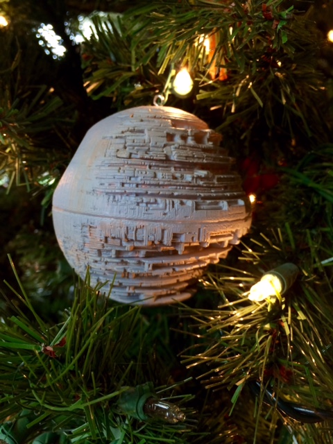 Death Star ornament