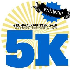5K Winner Badge