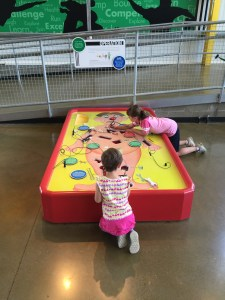 Life-size Operation game