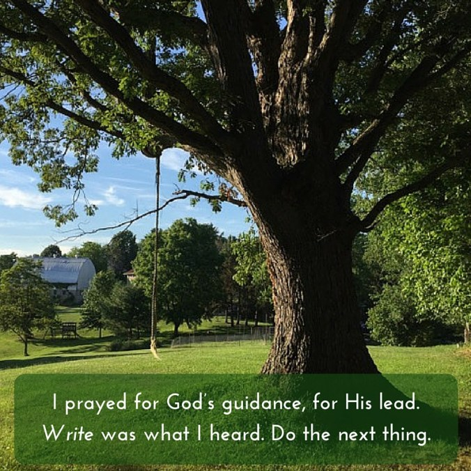 tree with quote