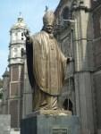 St. John Paul II statue
