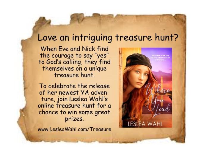 Where You Lead treasure hunt