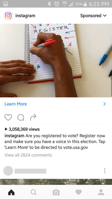 Vote.gov redesign