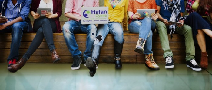 Welsh Charitable Housing Association Hafan Cymru delivers Spectrum session to MPs