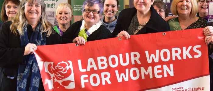 Swansea Labour women celebrate International Women's Day