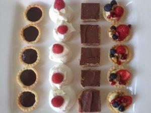 platter of deserts