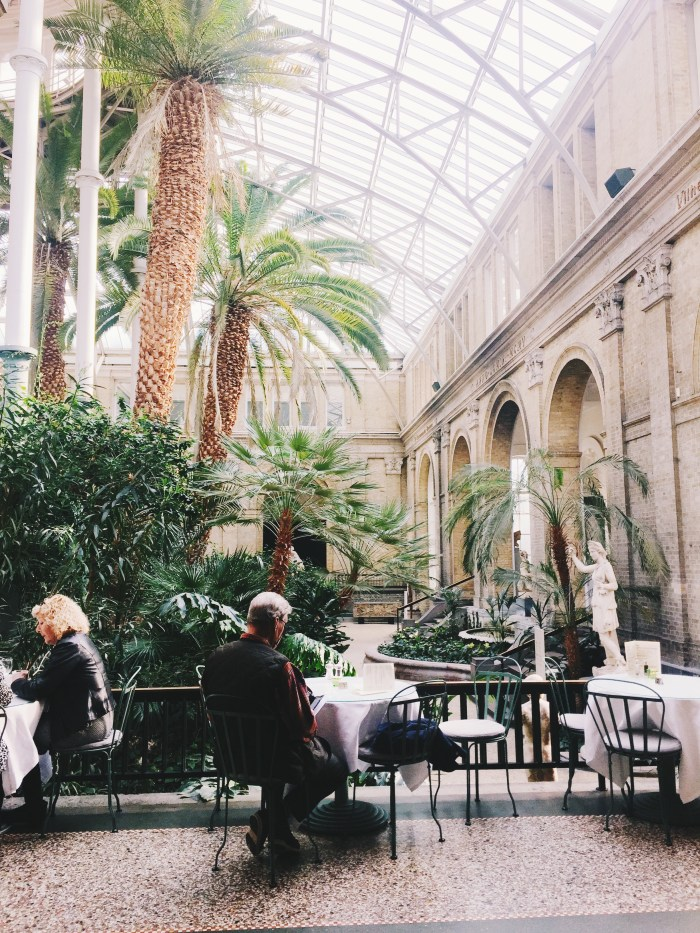 Cafe at Glyptotek