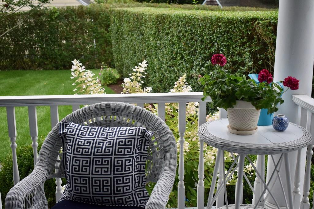 Denise's garden in East Hamptons