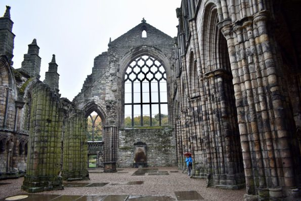 Ruins of Holyrood Abbey