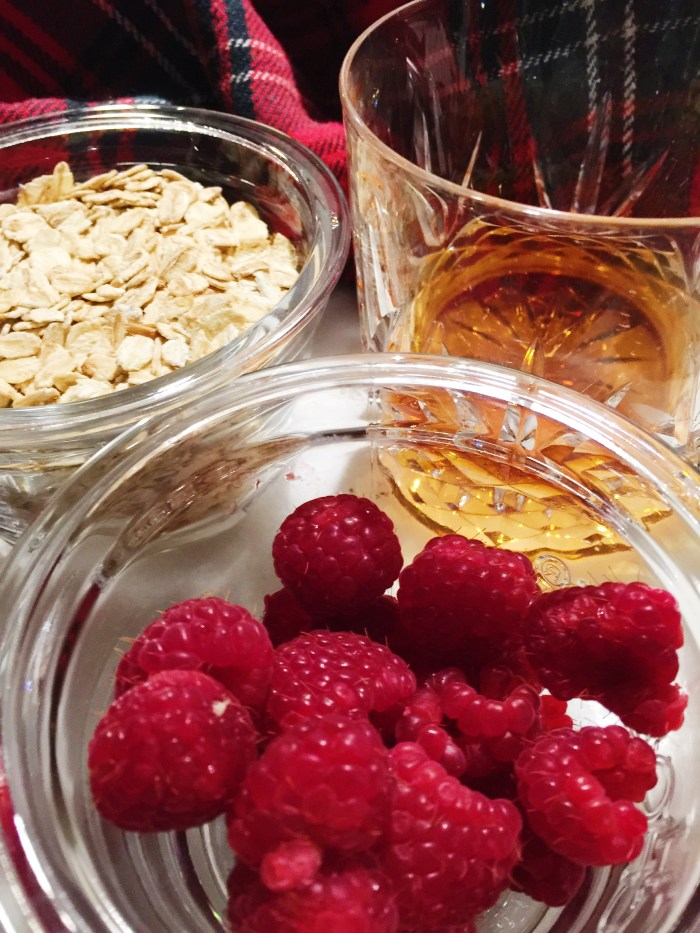 ingredients for cranachan