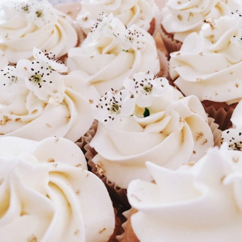 Royal Wedding Lemon and Elderflower Cupcakes
