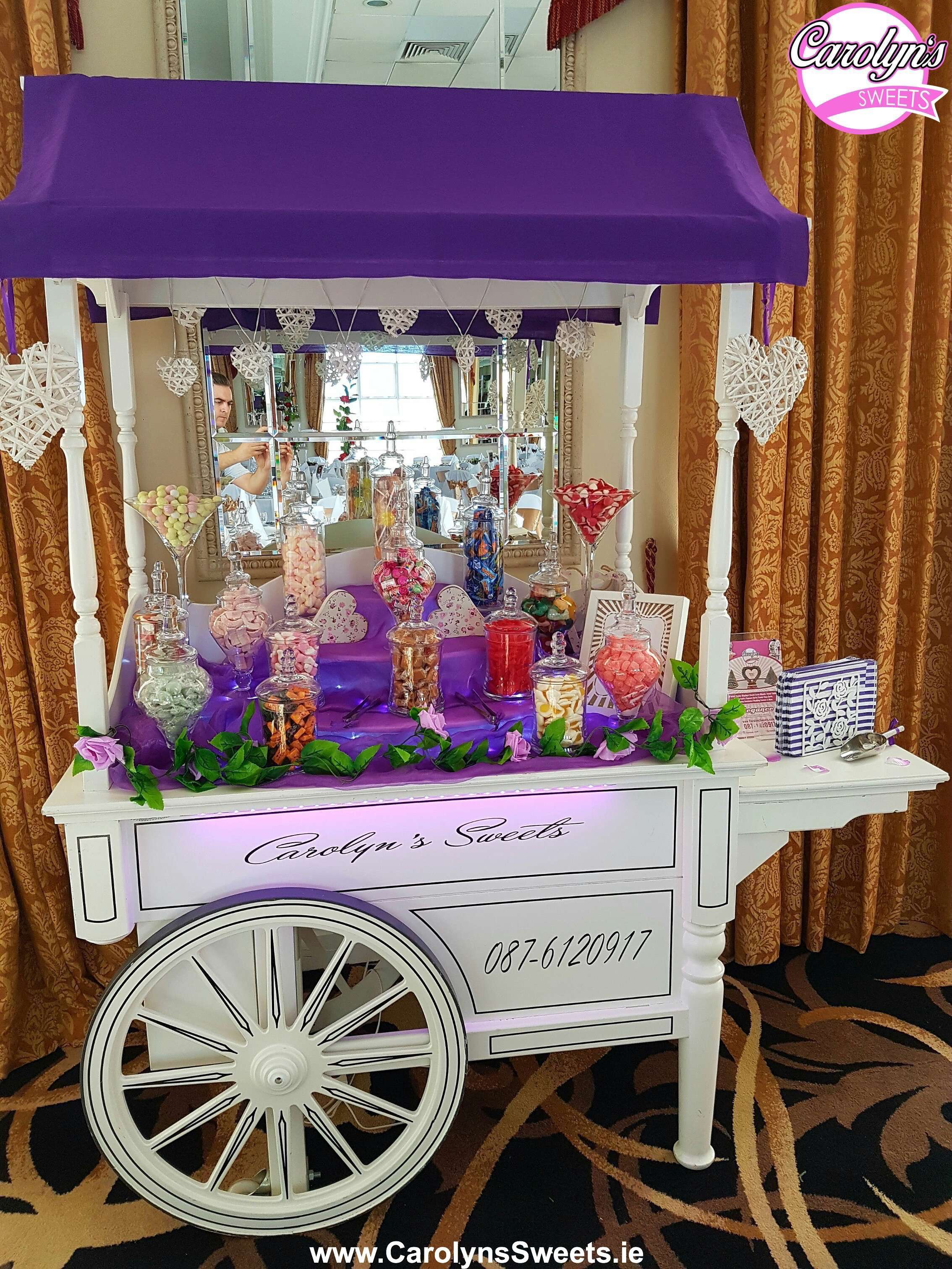Luxury Candy Cart Hire by Carolyns Sweets Prices from 175