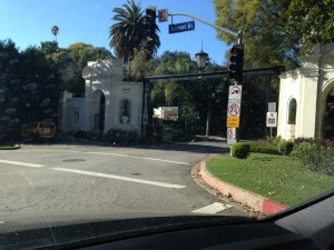 Bel Air East gate