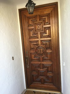 Holmby Hills entry door