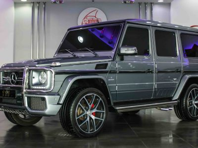 Mercedes-Benz G 63 AMG   Silver/Gray  2016 41,000KM- AED 435,000