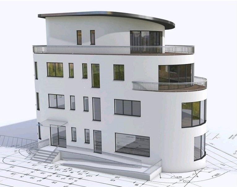 Konzeption des Business Tower in Ergolding / Landshut