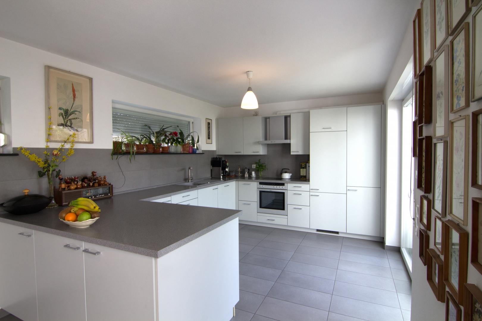 Stilvoll eingerichtete Küche