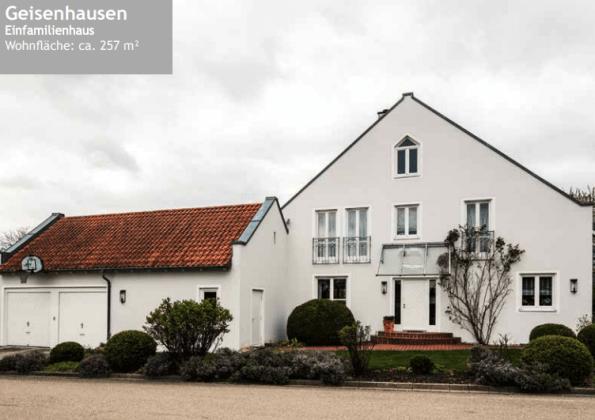 Referenzen Einfamilienhaus Geisenhausen