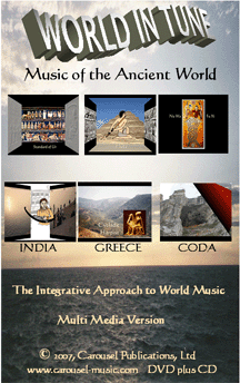 World in Tune Media Version, CD and DVD