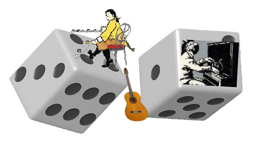 Mozart and Joplin Composing Games