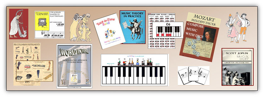 Mozart composing game, ancient music, piano chords, guitar chords, children's music