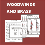 woodwinds brass