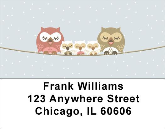 owls standard address labels