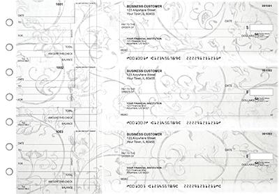 Vintage Standard Counter Signature Business Checks