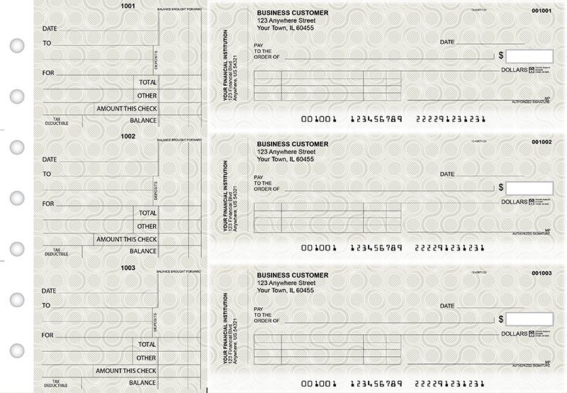 Circuit Standard Invoice Business Checks