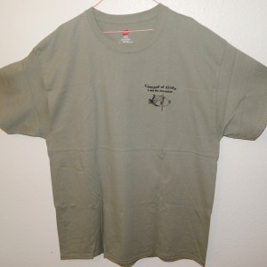 Tee - Sand Green - Front