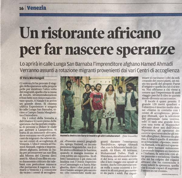Carousel  un blog creato con Venezia  Orient Experience