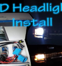 how to install hid conversion kit [ 1920 x 1080 Pixel ]