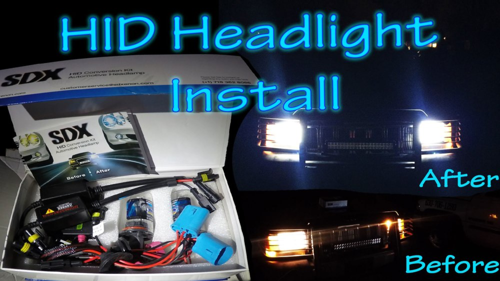 medium resolution of how to install hid conversion kit