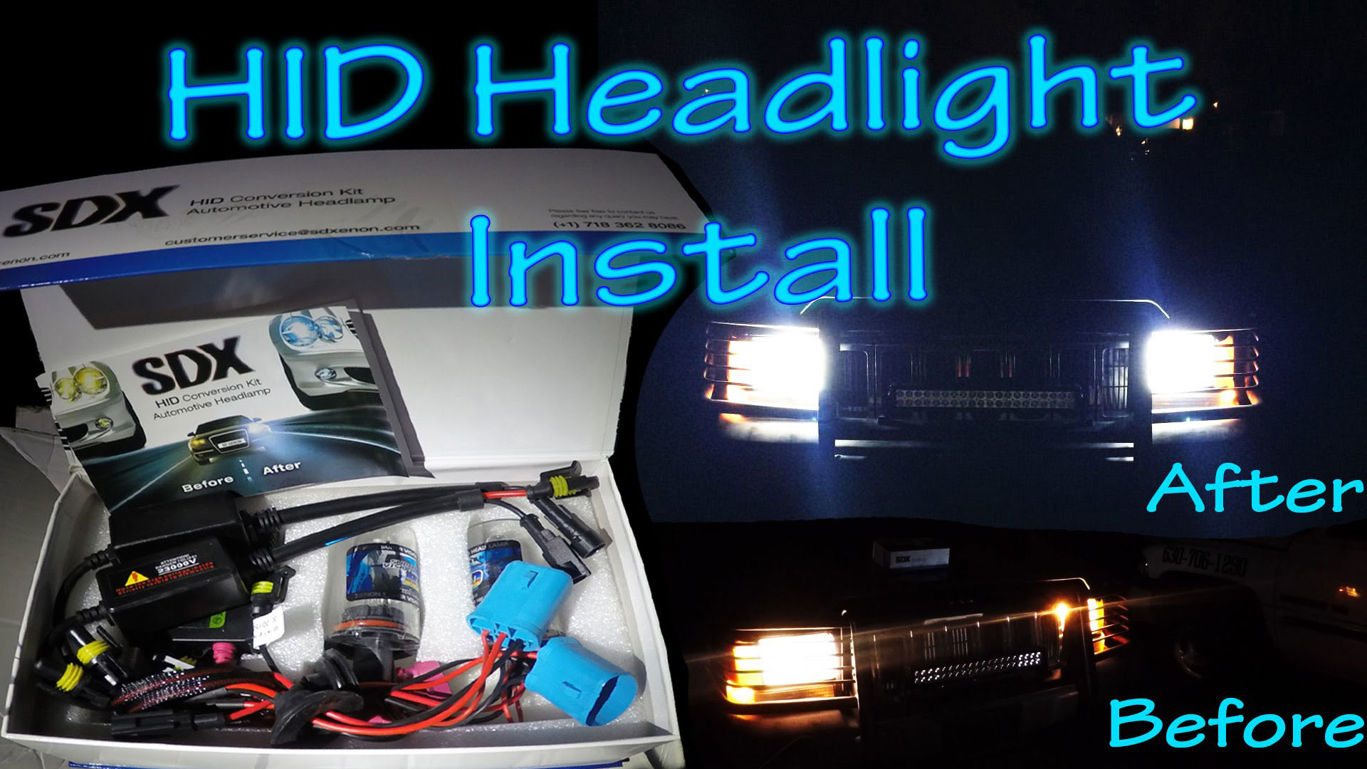 hight resolution of how to install hid conversion kit