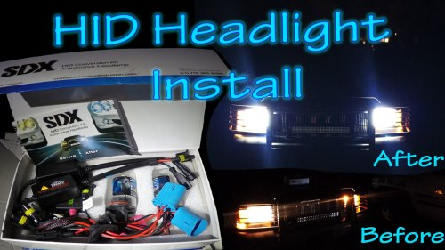 small resolution of how to install hid conversion kit