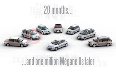 Renault Megane Range Is One In A Million