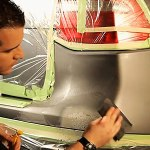 How to Touch Up Deep Bumper Scratches with Spray Paint