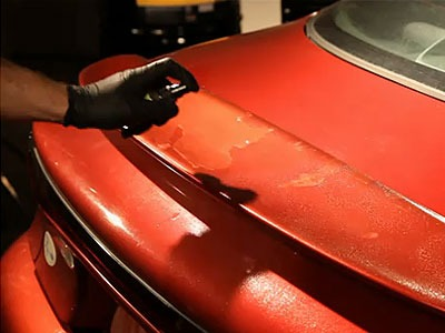 How To Remove Crackle From Car Paint