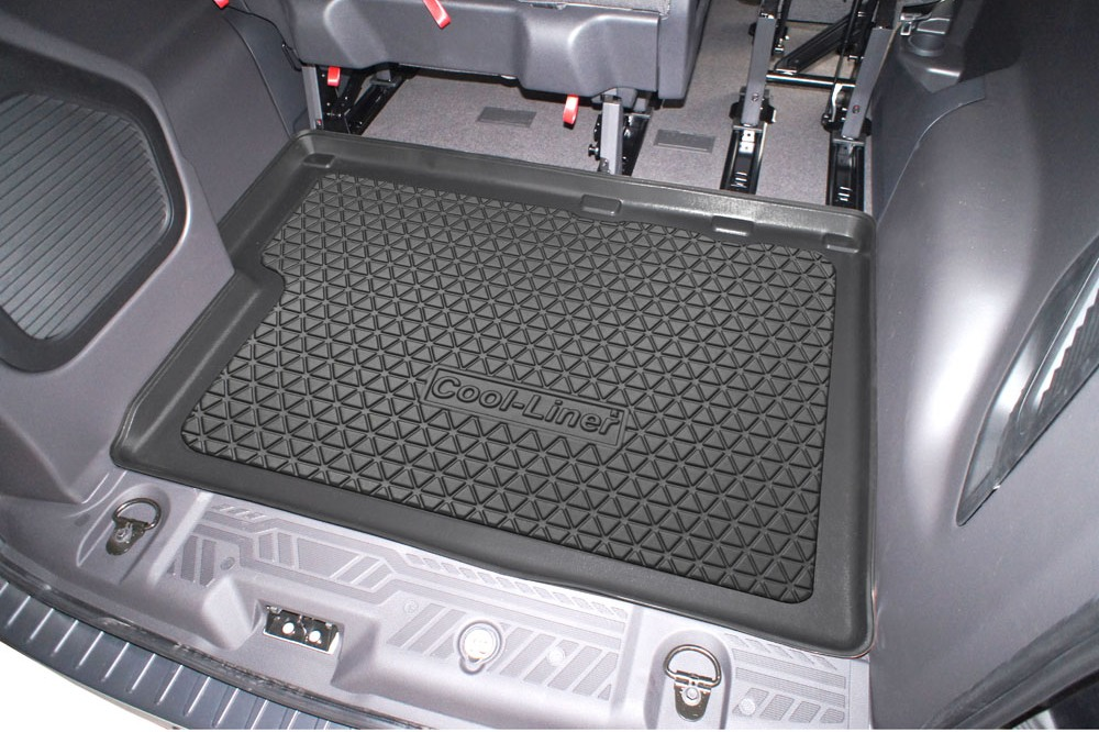 kofferraumwanne ford tourneo custom 2012 2018 cool liner anti rutsch pe tpe gummi