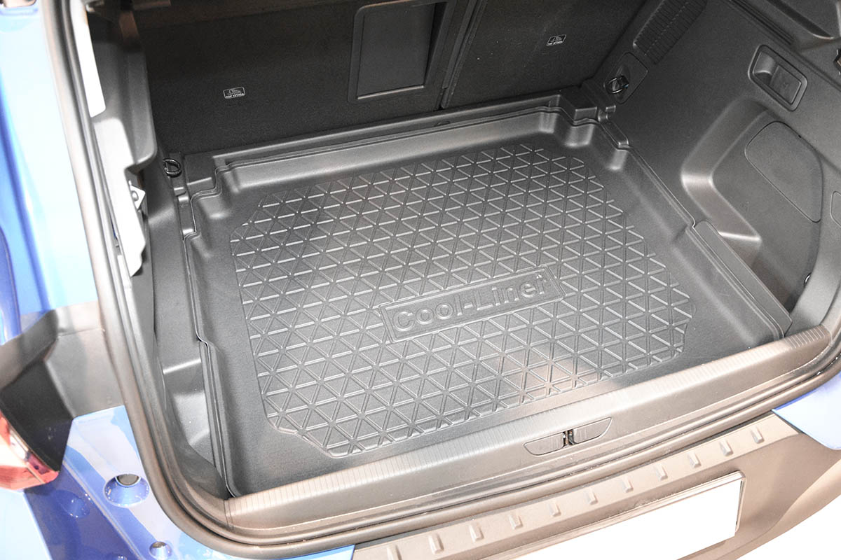tapis de coffre peugeot 3008 ii 2016 present 5 portes bicorps cool liner antiderapant pe tpe caoutchouc