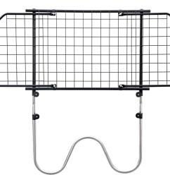 saunders w wire universal dog guard hundegitter hondenrek grille pare chien [ 1500 x 1000 Pixel ]