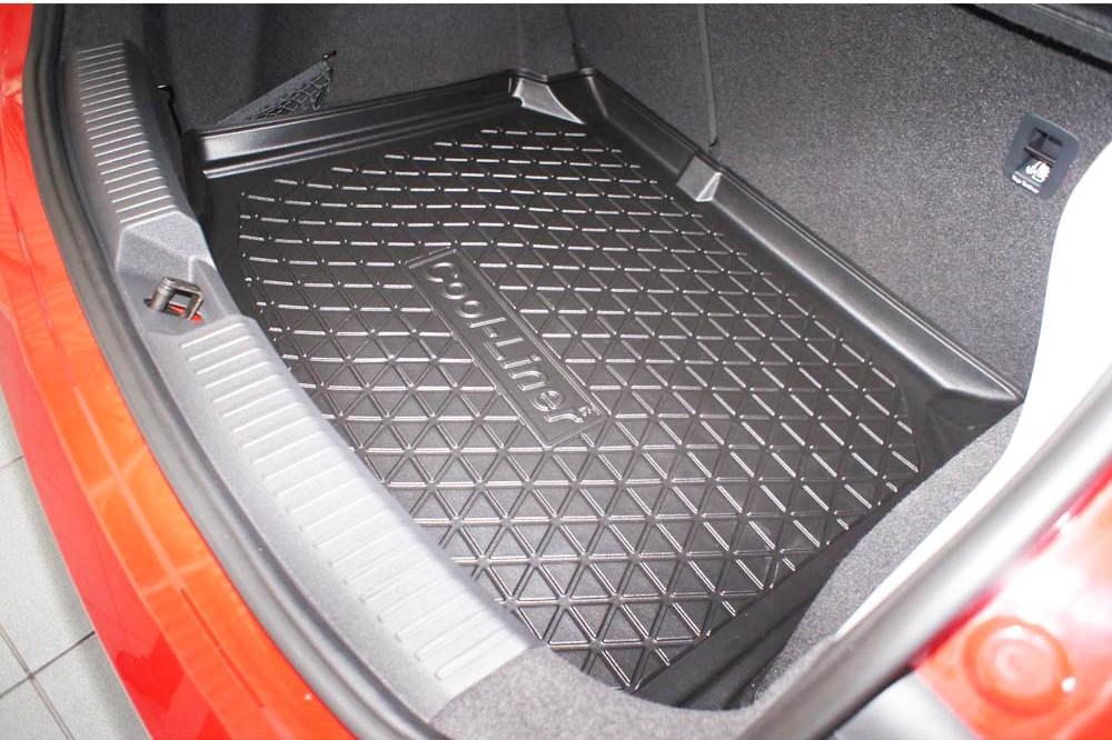 kofferraumwanne seat leon 5f 2012 2020 3 5 turer schragheck cool liner anti rutsch pe tpe gummi