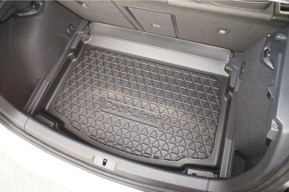kofferraumwanne volkswagen golf vii 5g 2012 2020 3 5 turer schragheck cool liner anti rutsch pe tpe gummi
