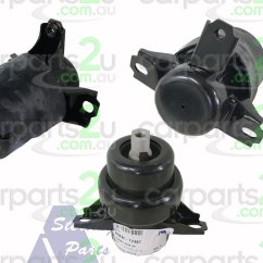 Brand New Toyota Camry Engine Dimensi Grand Avanza 2016 Parts To Suit Spare Car Acv36 Mcv36 Mount Na Front