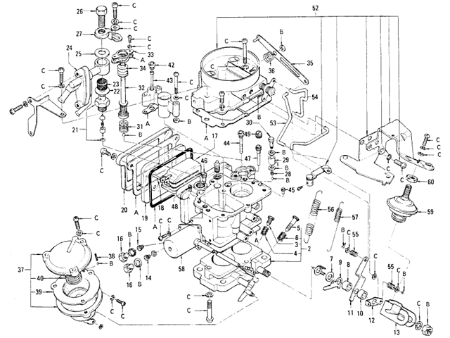 Carburetor Diagram Rochester Single Here We Have For Sale