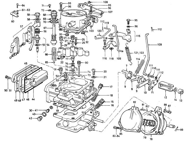 Pin Carburador Hitachi Datsun 1800 Huixquilucan Accesorios
