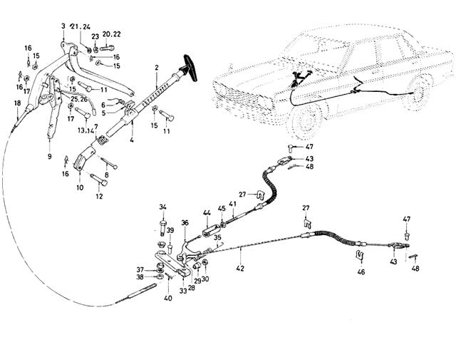 1965 Mustang Emergency Brake Diagram Pictures to Pin on