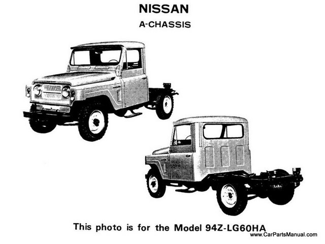 Nissan Patrol 60 Model Photos