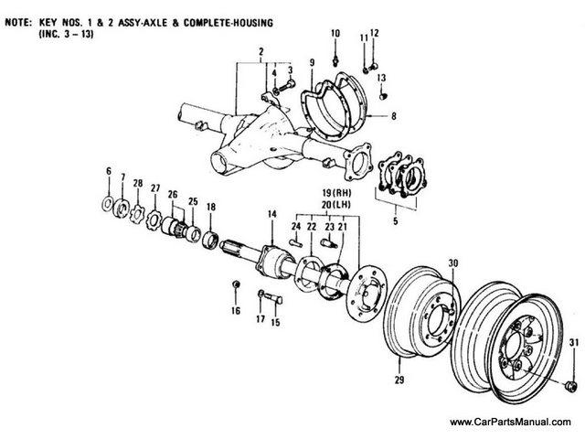 Nissan Patrol 60 series Parts Manual > Nissan Patrol 60