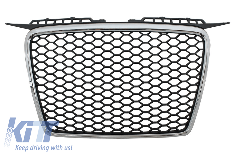 Badgeless Front Grille Audi A3 8P (2004-2007) RS Design